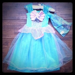 Girls Mermaid Dress Up Costume